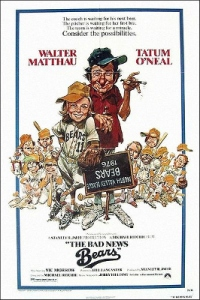 The Bad News Bears theatrical release poster. c/o wikipedia